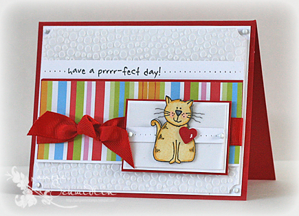 Purrrfect Day (Card)