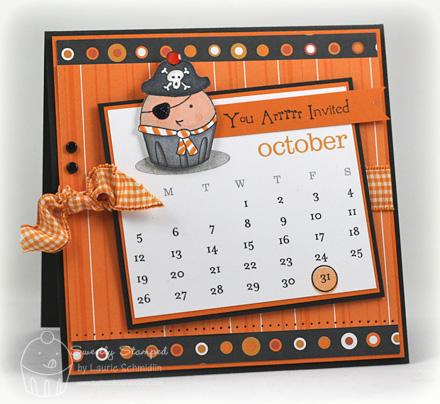 Calendar for a cause card copy