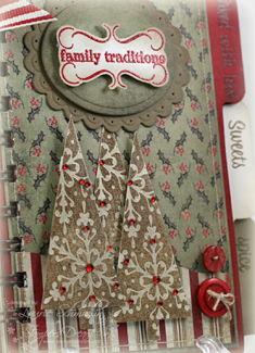 Family Traditions Recipe Book (Close-Up)