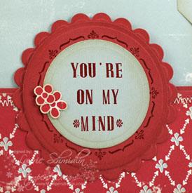 You're On My Mind (Inside - closeup)