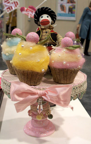 Wool Cupcakes