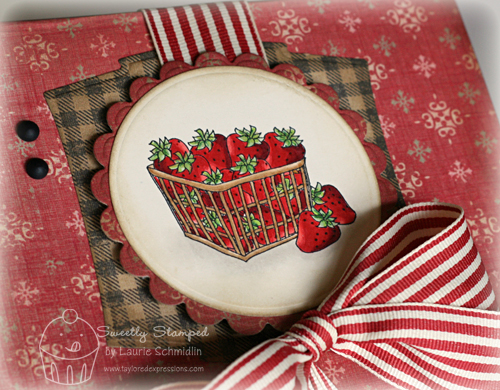 Strawberry Box (close-up)