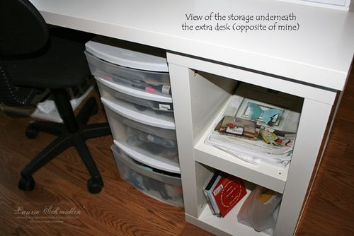 SR Under Spare Desk