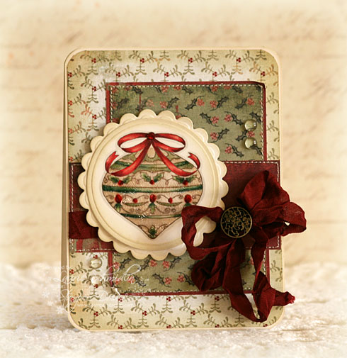 SD Vintage Christmas Ornament 2