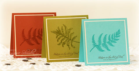 SD Autumn Fern Card Set2