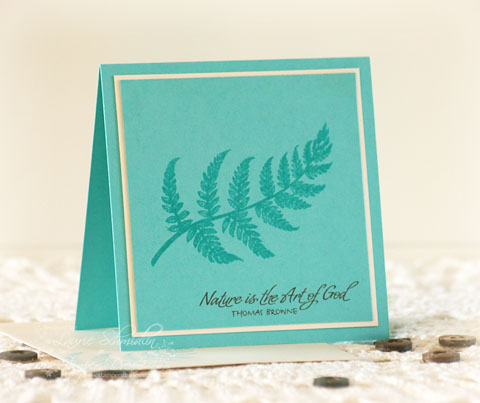 SD Autumn Fern Card Set3