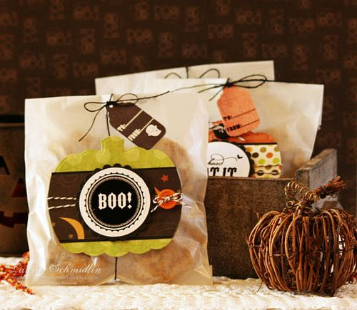 WMS Pumpkin Cookie Treat Bags