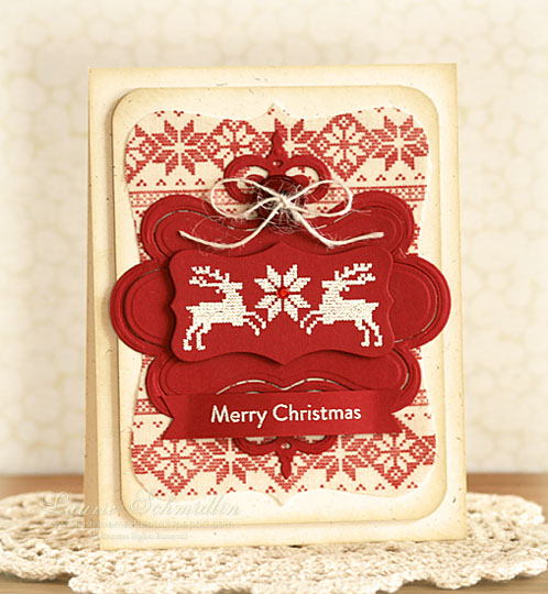 WMS Nordic Christmas - Red