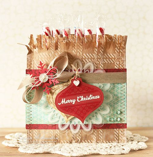 WMS Candy Cane Goodie Bag