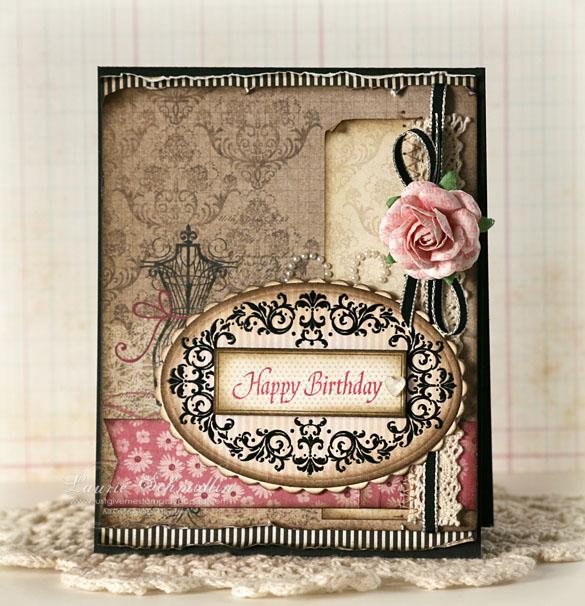Sd Elegant Happy Birthday