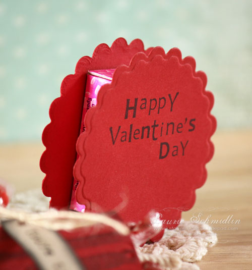 Valentine's Day Treats... - Just Give Me Stamps... Smarties Box Design
