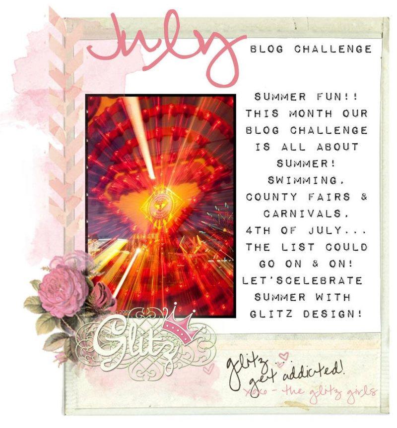 July Glitz Challenge