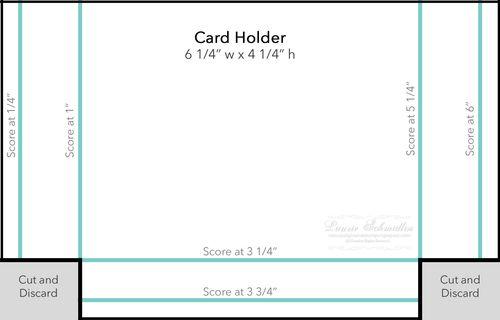 Box Template (Card Holder)