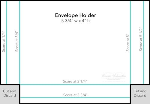 Box Template (Envelope Holder)