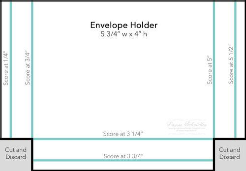 Box Template (Envelope Holder)