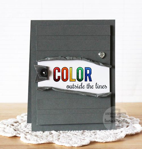 Color Outside the Lines by Laurie Schmidlin