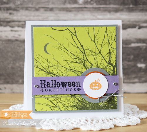 Spooky Halloween Greetings by Laurie Schmidlin