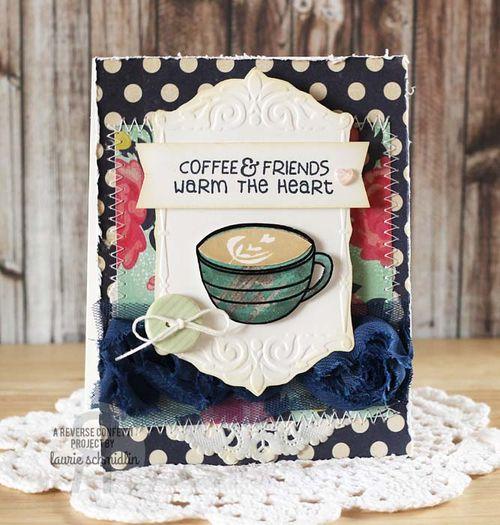 Coffee & Friends by Laurie Schmidlin