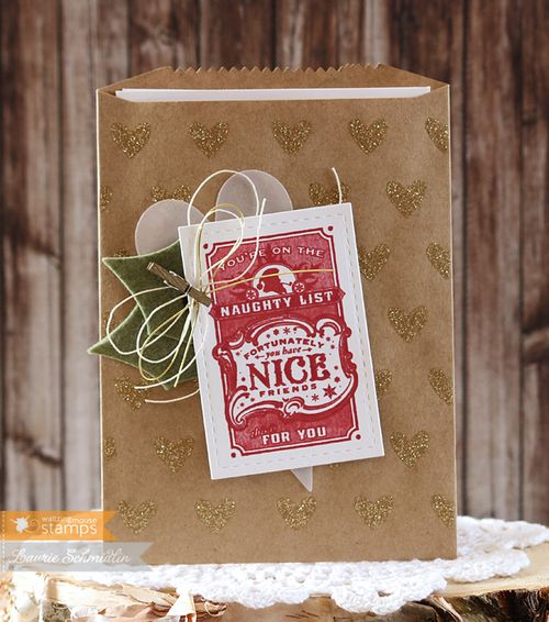 Naughty List Gift by Laurie Schmidlin