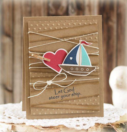 Let God Steer Your Ship by Laurie Schmidlin