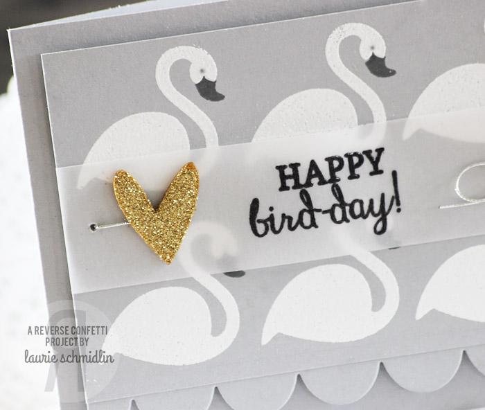 Happy Bird-day (Detail) by Laurie Schmidlin