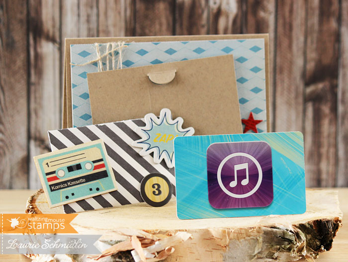 For You Gift Card 3 by Laurie Schmidlin
