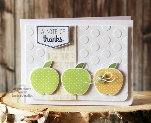 Note of Thanks by Laurie Schmidlin