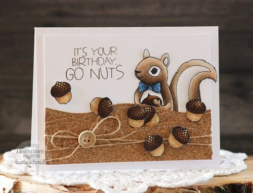 Go Nuts by Laurie Schmidlin