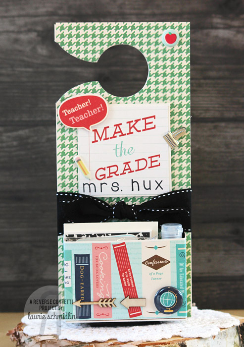 Teacher Door Hanger by Laurie Schmidlin