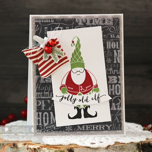 Jolly Old Elf by Laurie Schmidlin