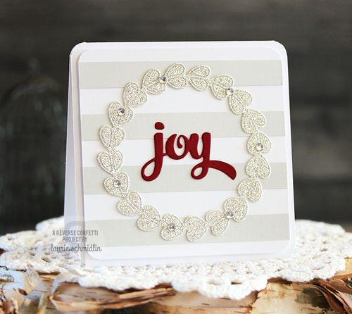 Joyful Wreath by Laurie Schmidlin