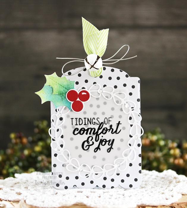 Comfort & Joy Tag by Laurie Schmidlin