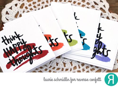 Happy Thoughts Card Set by Laurie Schmidlin