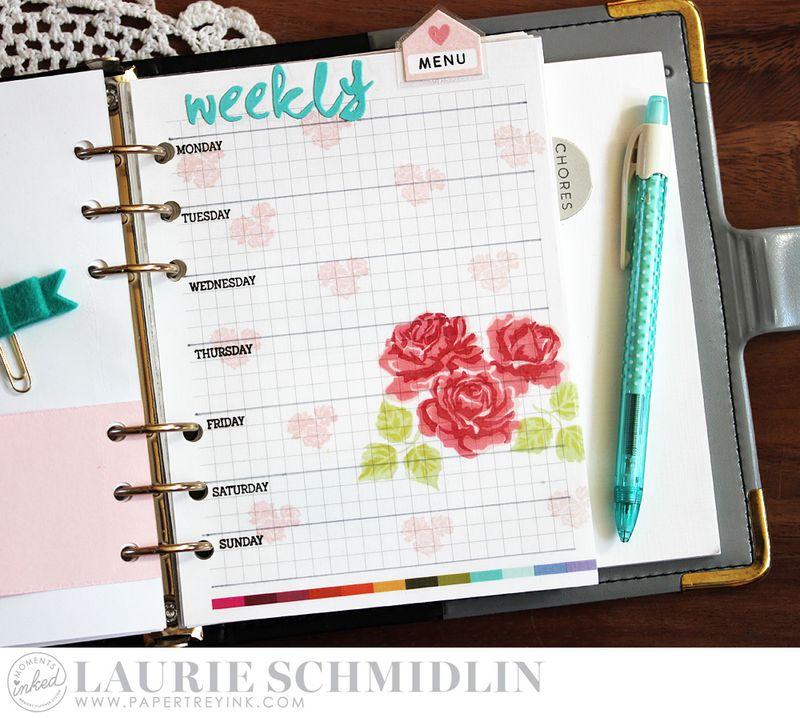 Weekly Menu 5 by Laurie Schmidlin
