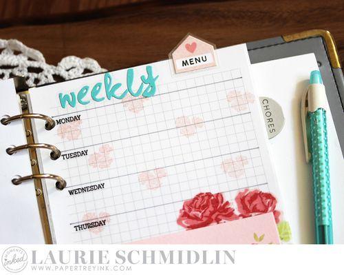 Weekly Menu 3 by Laurie Schmidlin