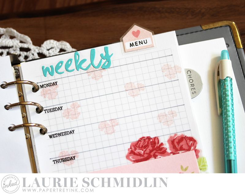 Weekly Menu 3 by Laurie Schmidlin
