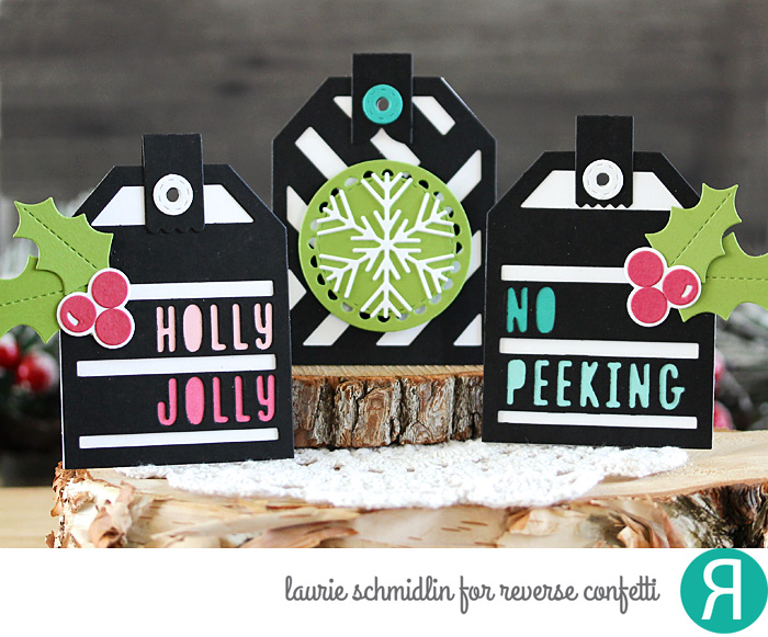 Christmas Tag Trio by Laurie Schmidlin