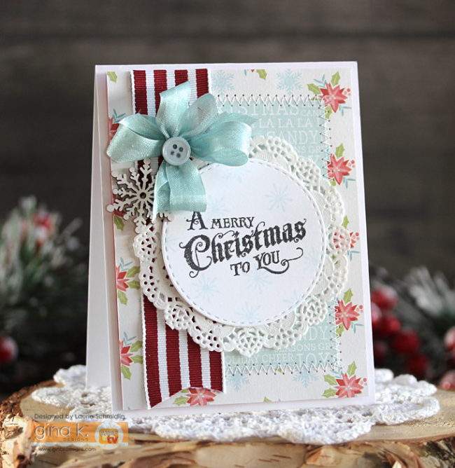 A Merry Christmas to You by Laurie Schmidlin