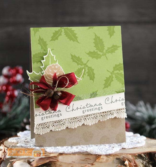Christmas Greetings by Laurie Schmidlin