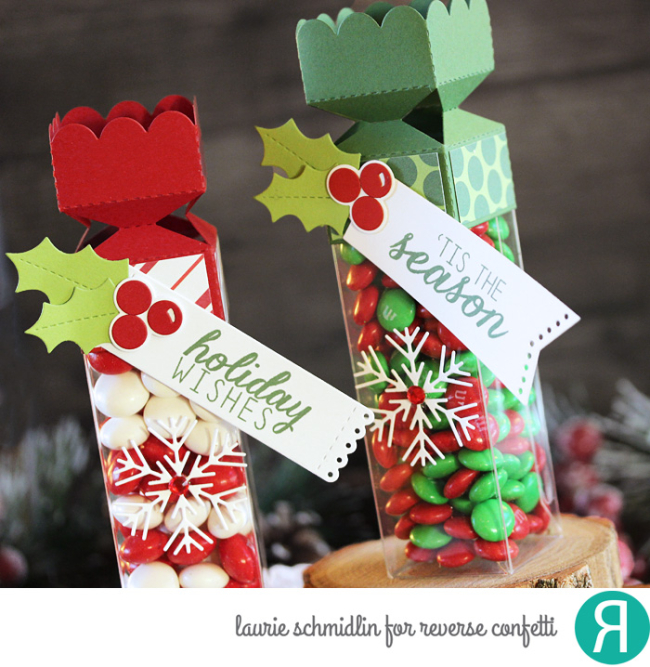 Holiday Treat Tubes 2 by Laurie Schmidlin