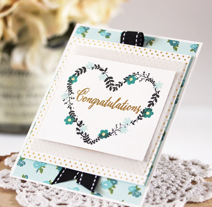 To Have & To Hold Congratulations by Laurie Schmidlin