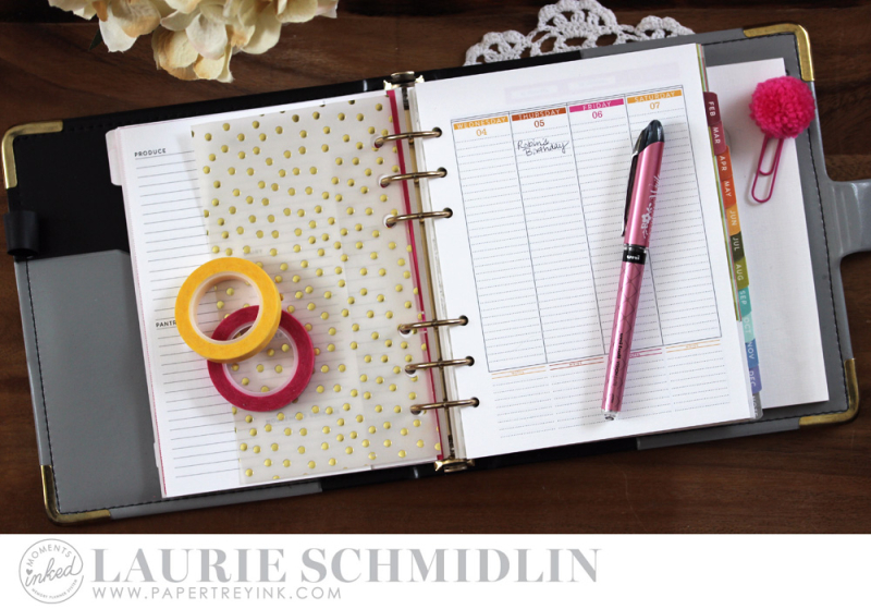 Planning for a New Year 6 by Laurie Schmidlin