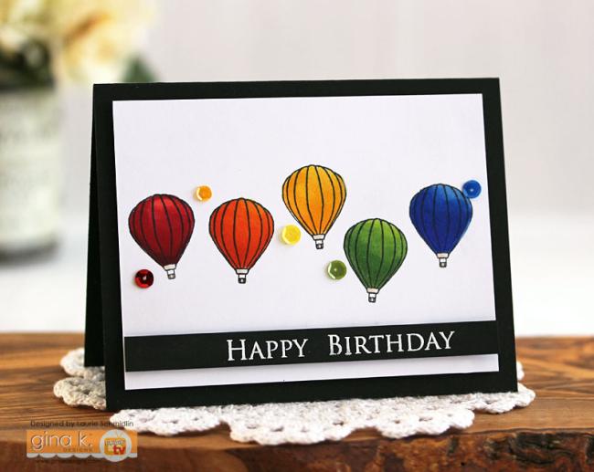 Rainbow Balloons by Laurie Schmidlin
