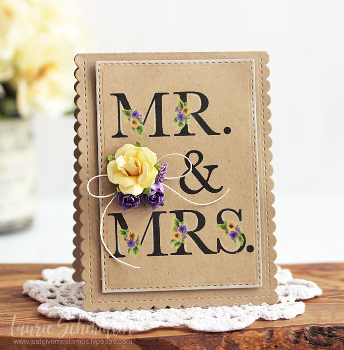 Mr & Mrs by Laurie Schmidlin