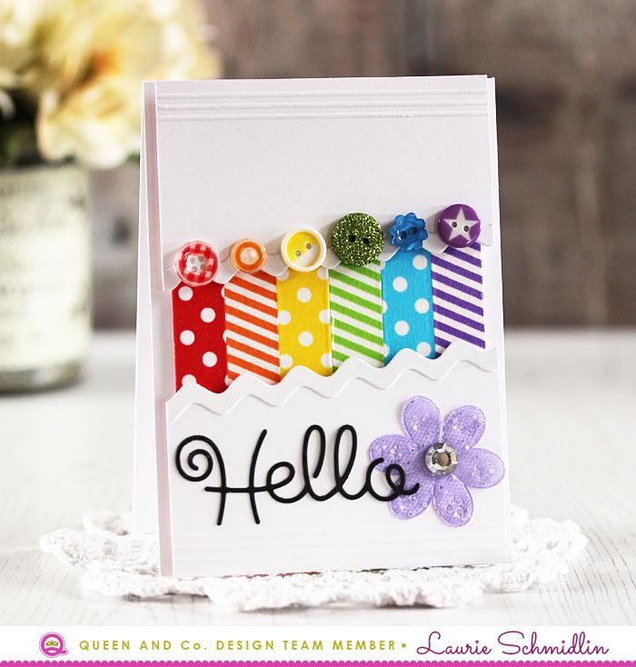 Rainbow Hello by Laurie Schmidlin