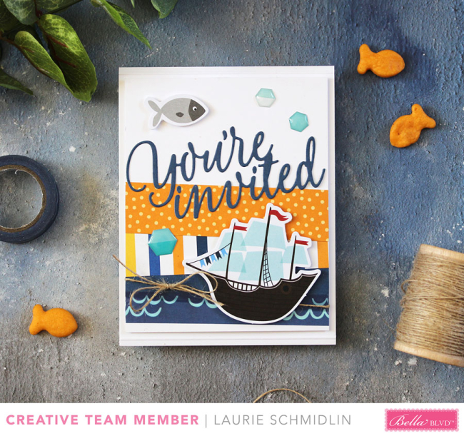 Secrets of the Sea Card by Laurie Schmidlin