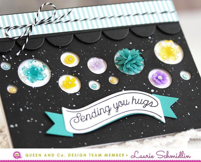 Sending You Hugs (detail) by Laurie Schmidlin