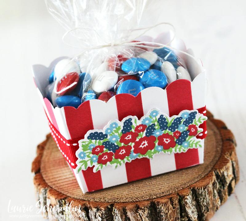 Patriotic Gift Basket (detail 1) by Laurie Schmidlin