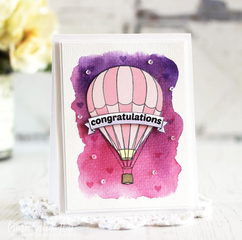 Altenew--Baby Balloon-Laurie Schmidlin