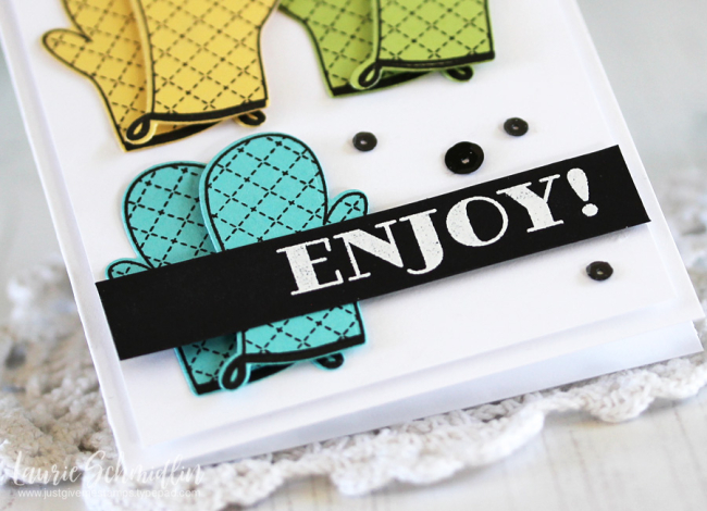 Enjoy (detail 1)by Laurie Schmidlin